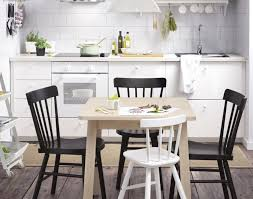 white chairs ikea chair. Kitchen:Appealing Black White Dining Table Chairs Ikea For Small Scale Family Dinners 1364312032954 S5 Chair