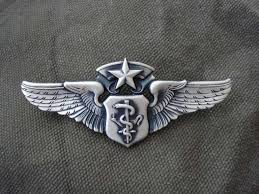 Air Force Paramedic U S Air Force Chief Flight Nurse Wing Badge One Day