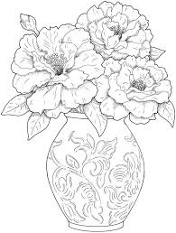 Small Picture Flower Coloring Pages for Adults Best Coloring Pages For Kids