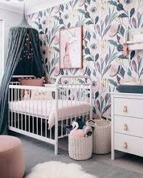 Gallery ba nursery teen room furniture free Removable Wallpaper Nursery Wall Decor Nursery Wallpaper Kids Room Design Nursery Design Nursery Wall Pinterest 1889 Best Baby Girl Nursery Ideas Images In 2019 Child Room