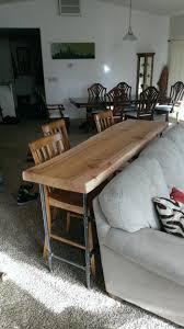 Diy Sofa Table Ideas Diy Sofa Table Ideas S Nongzico
