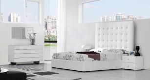White Contemporary Bedroom Furniture Black