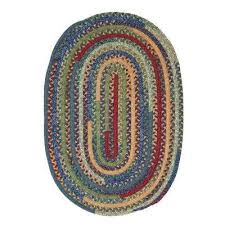 owen sea glass 4 ft x 4 ft round braided area rug