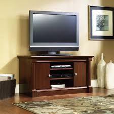 Tv Stand Sauder Palladia Tv Stand For Tvs Up To 50 Cherry Finish