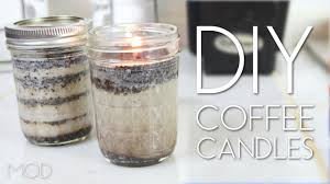 Diy Candles Diy Coffee Candles Mini Mod 37 Youtube