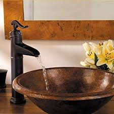 bronze single handle bathroom faucet volvey bathroom sink faucets oil rubbed bronze waterfall widespread single handle