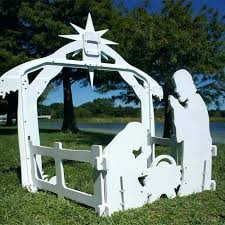 outdoors nativity scene sets wood outdoor holy night set large back view wooden scenes outdoors nativity scene