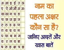 Rashi Chart Name Know The Nature According To First Letter Of Name Rashi