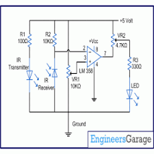 ir sensor circuit circuit diagram for infrared ir sensor circuit diagram for infrared ir sensor