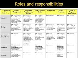 possible design alternatives 45 roles and responsibilities ba roles and responsibilities