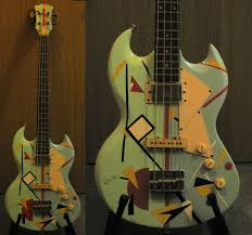 short scale eb0 bass probably anese early 70s no