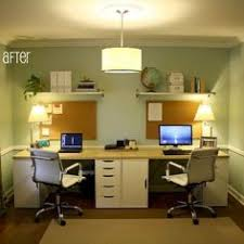 Small Picture Great Double Office Desk Interior Design Beautiful Home Office