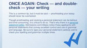 Personal Statement Tip Personal Statement Revision And Writing Tips And Tricks