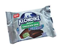 mint chocolate candy brands. Klondike Mint Chocolate Chip Bar For Candy Brands