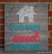 Home Sweet Home String Art
