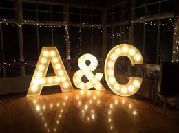 wedding lighting diy. Coco-luminaire-light-letters-460x343 Images DIY Lights Wedding Lighting Diy F
