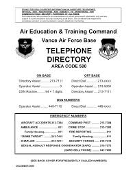 What is the military phonetic alphabet. Telephone Directory Air Force Freedom Of Information Act
