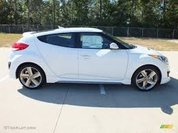 hyundai veloster 2015 white. Simple Veloster Elite White Pearl 2013 Hyundai Veloster Turbo Exterior Photo 71071797 Intended 2015 L