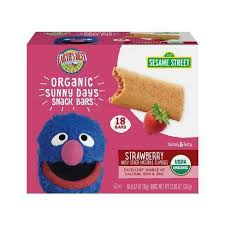Earth's Best Sesame Street <b>Organic Sunny Days</b> Strawberry <b>Snack</b> ...