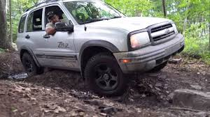 02 Chevy Tracker on blue at Rausch Creek - YouTube