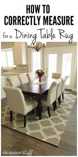 Correctly Measure Dining Room Table Collection Including Charming