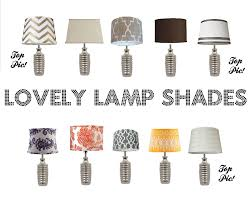 lamp shades design shade lovely lamps with winsome
