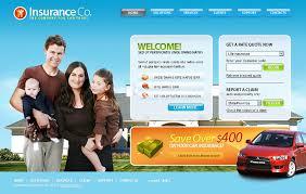 website template 19922 insurance company protection custom insurance website design