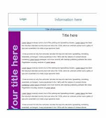 Blank Sample Fact Sheet Template Example Format Source Rightarrow