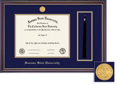 diploma frames sonoma state university bookstore framing success windsor diploma frame in gloss cherry finish and gold trim