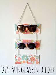 diy sunglasses holder