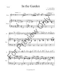in the garden sheet music. Contemporary Music In The Garden C Austin Milesarr Kenneth Baird  Inside The Garden Sheet Music G