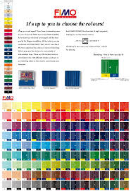 Clay Color Chart Pin By Kristi Harkins On Its A Clay Thing Polymer Clay