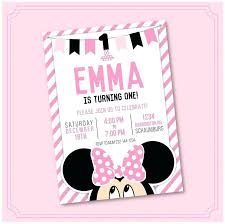 Free Minnie Mouse Birthday Invitations Minnie Mouse Birthday Party Invitations Zoli Koze