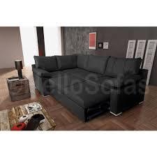 Vault Corner Sofa Bed Storage Black LH Images hosted at