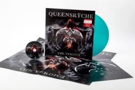 <b>Queensryche</b> - The Verdict (Ltd Transp Petrol Green <b>LP</b> + <b>CD</b> ...