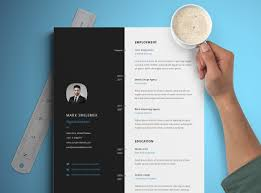 30 Free Creative Resume Templates For Adobe Indesign Decolorenet