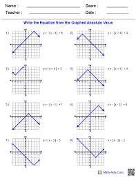 algebra 2 worksheets complex numbers absolute value inequalities worksheet with answers worksheets