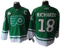 flyers green jersey cheap philadelphia flyers 18 mike richards jerseys green wholesale