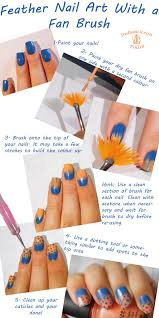 Indian Ocean Polish: Spotted Feather Nail Art With a Fan Brush ...