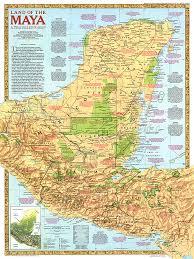 of the maya map Mayan Cities Map land of the maya map mayan city map