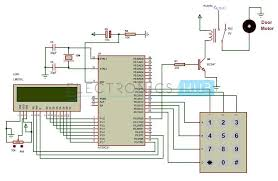 password based door lock system using 8051 microcontroller password based door lock system using 8051 microcontroller schematic