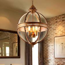 creative personality vintage chandelier lamp restaurant bar cafe american living room pendantlight wrought iron glass shade pendant lamp shade pendant