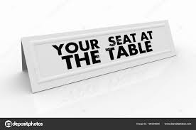 name tent your seat table name tent card render illustration stock photo