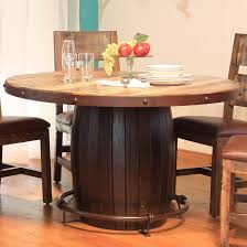 Antique Round Kitchen Table Artisan Home 900 Antique Round Dining Table With Barrell Base And