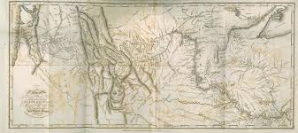 home digital collections for the classroom image of a map of lewis and clark s track