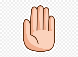 Talk To The Hand Sticker - Talk To The Hand - Free Transparent PNG Clipart  Images Download
