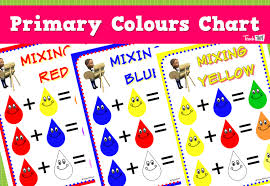 Primary Colours Chart Teacher Resources And Classroom