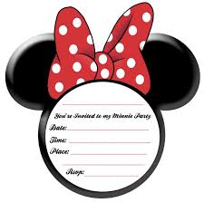minnie mouse head mickey mouse head template for invitations diy cliparts