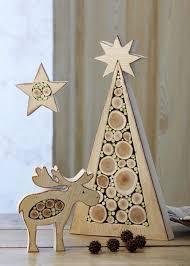 Romantische Weihnachtsdeko Aus Holz Amazonde Ingrid Moras