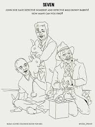 Scary Movie 1 Grandma Coloring Pages
